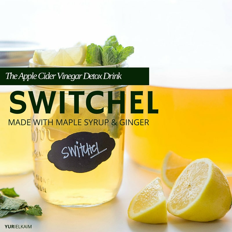 Switchel - The Apple Cider Vinegar Detox Drink