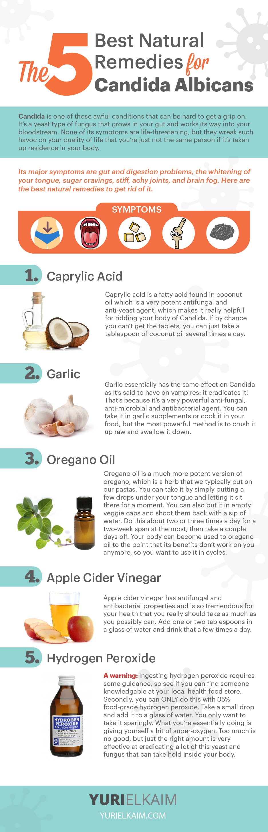 The Candida Cure: 5 Natural Treatments for Getting Rid of It