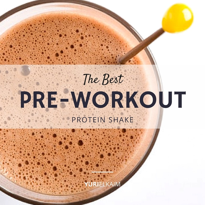 The Pre-Workout Shake that Burns Fat and Spares Muscle