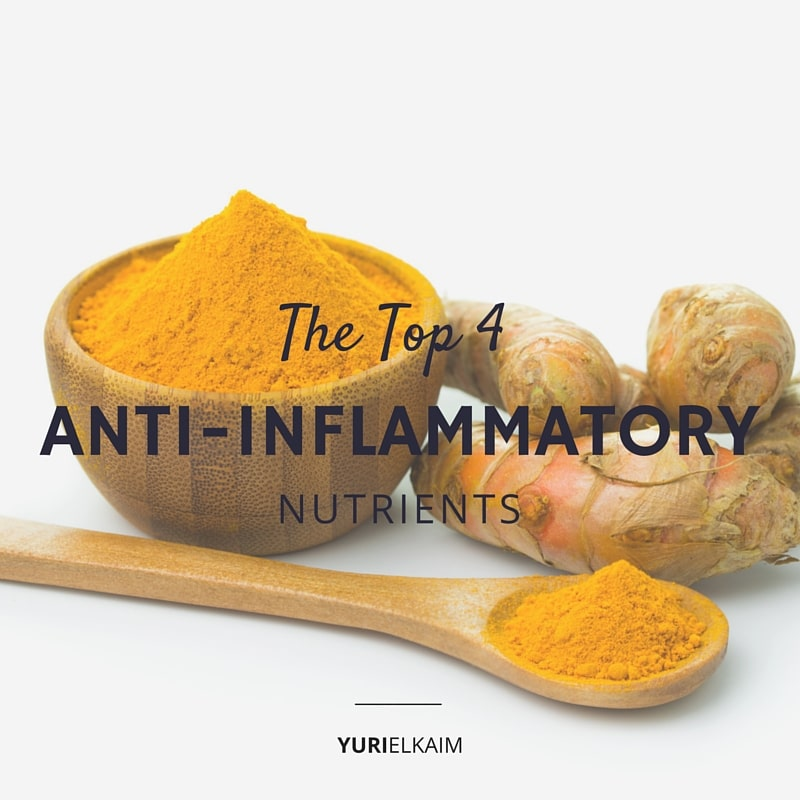 The Top 4 Natural Anti-Inflammatory Nutrients to Fight Inflammation, Speed Recovery, and Burn Fat