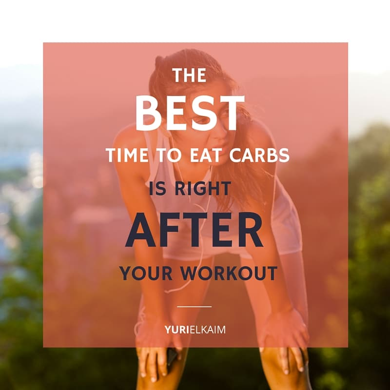 When to Eat Carbs - After Your Workout