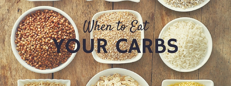 When to Eat Your Carbs