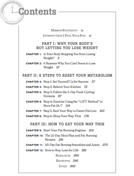 all-day-fat-burning-diet-table-contents