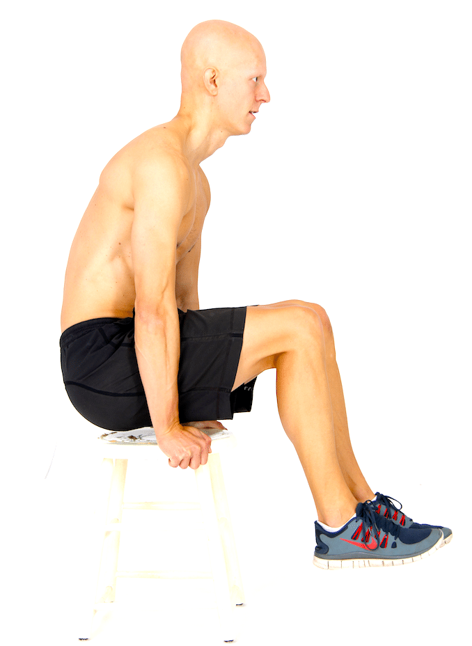 The 14 Best Ab Exercises - Chair Hold