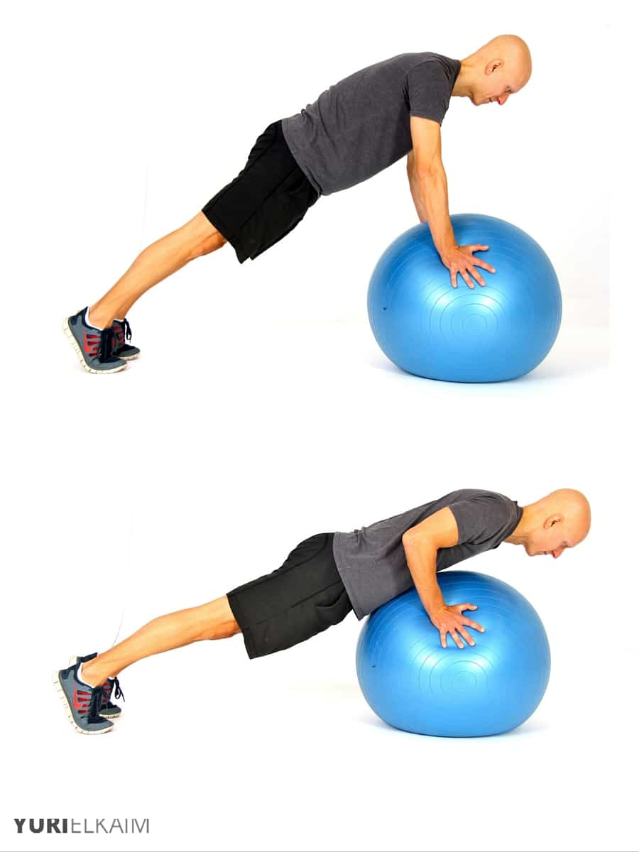 Watch 11 Best Stability Ball Moves video