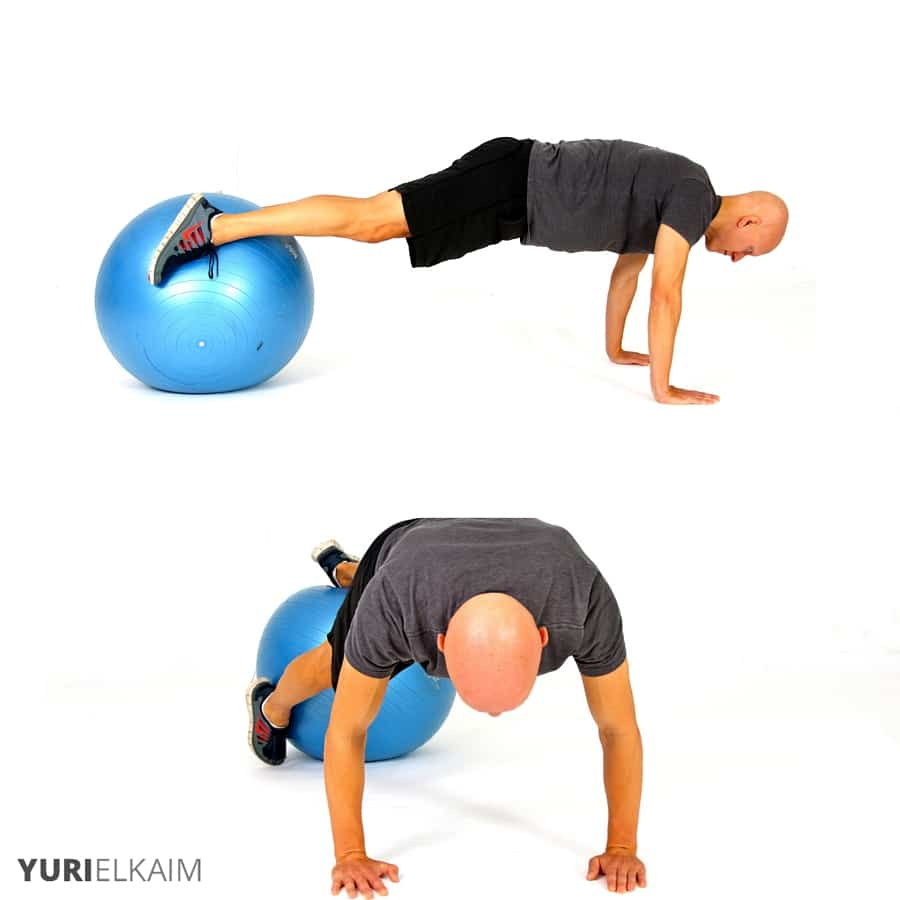 The Best Stability Ball Exercises for Core Training - Stability Ball Prone Twists