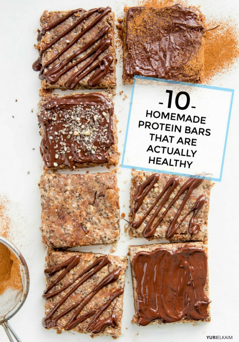 10 Homemade Protein Bars That Are Actually Healthy
