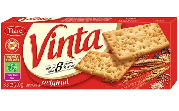 Fake Healthy Snacks - Whole Wheat Crackers