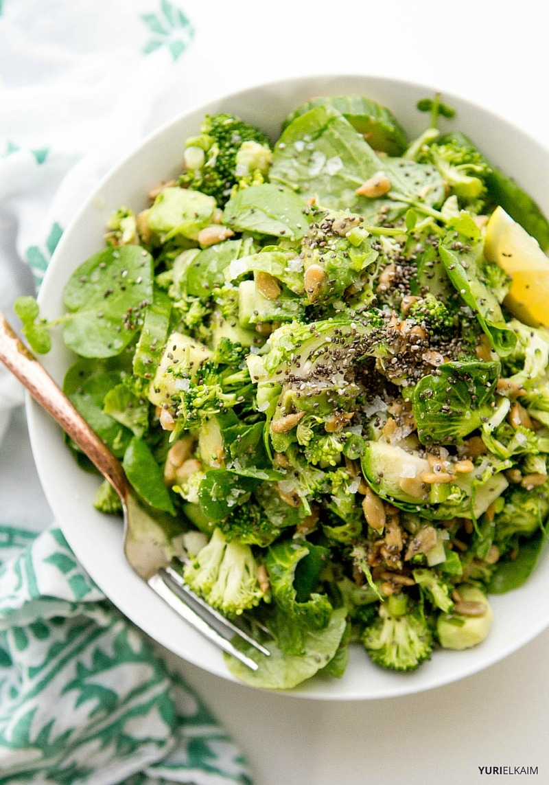 Finally, the watercress in this detox salad works as a natural ...