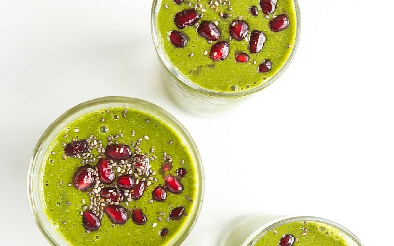 Easy Green Smoothie Recipes: 8 Three-Ingredient Combinations
