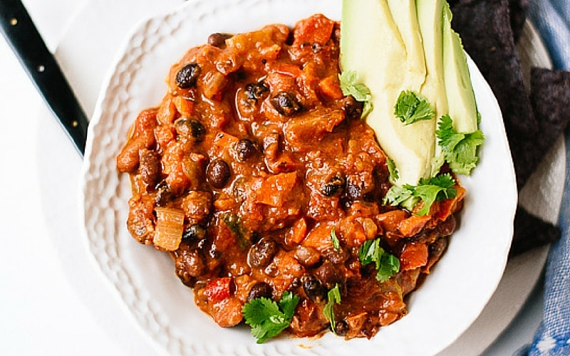 Homemade Vegetarian Chili