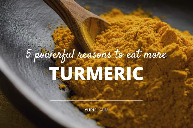 5 Reasons Why You Should Be Eating Turmeric