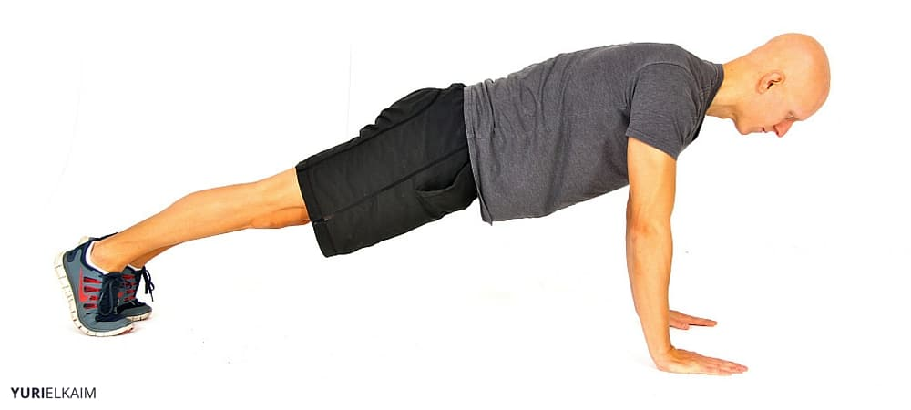 Bodyweight Workout Routine - Push-up Starting Position