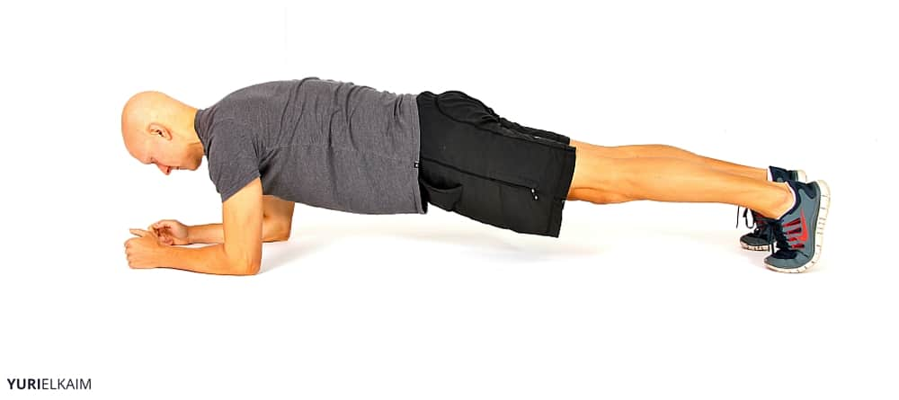 Bodyweight Workout Routine - Planks