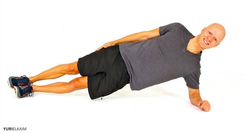 Core Strength Exercises - The Side Plank