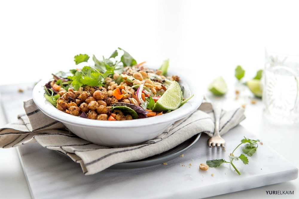 Roasted Chickpea Quinoa Bowl