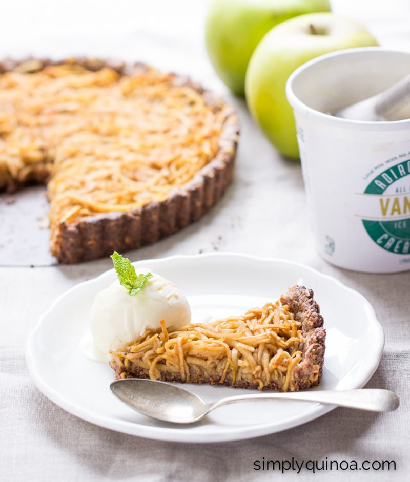 Apple Tart - Simply Quinoa