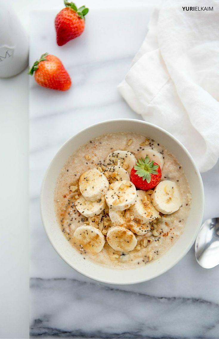 Banana Bread Paleo Porridge