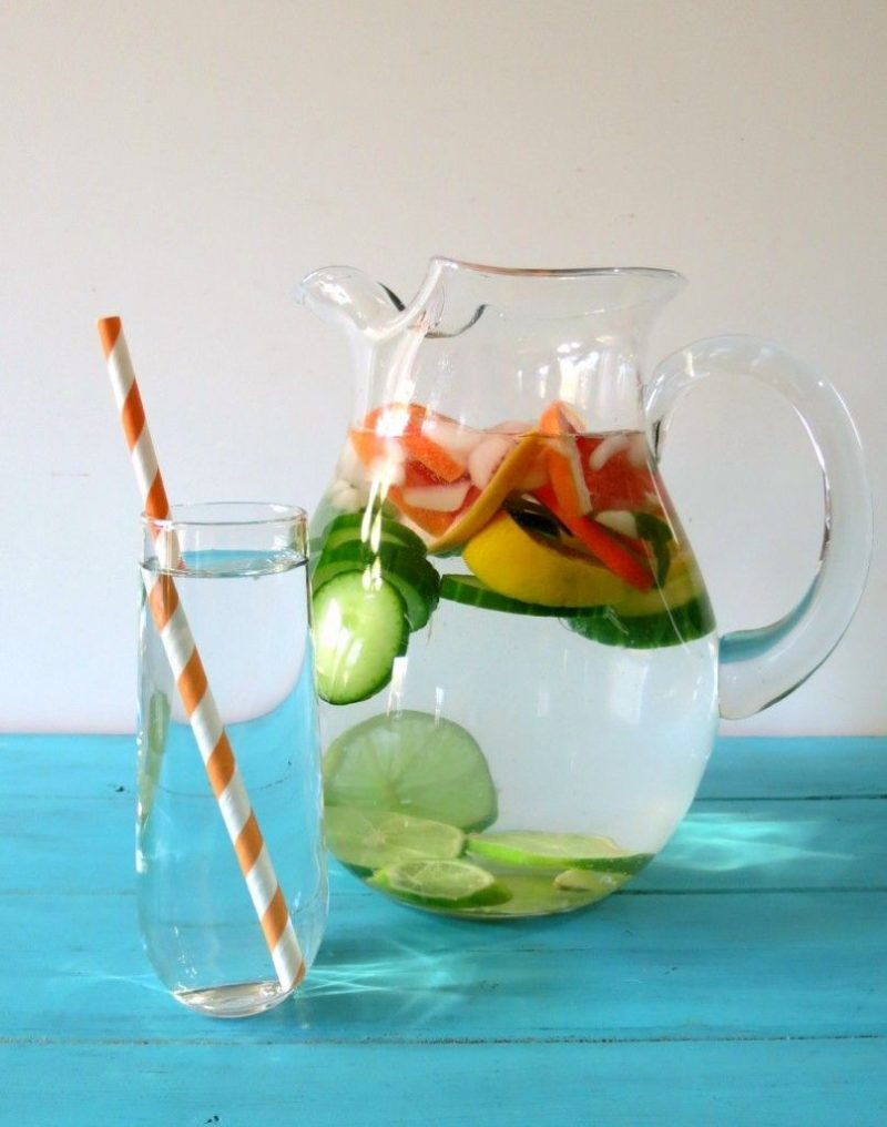 Flavored Detox Waters
