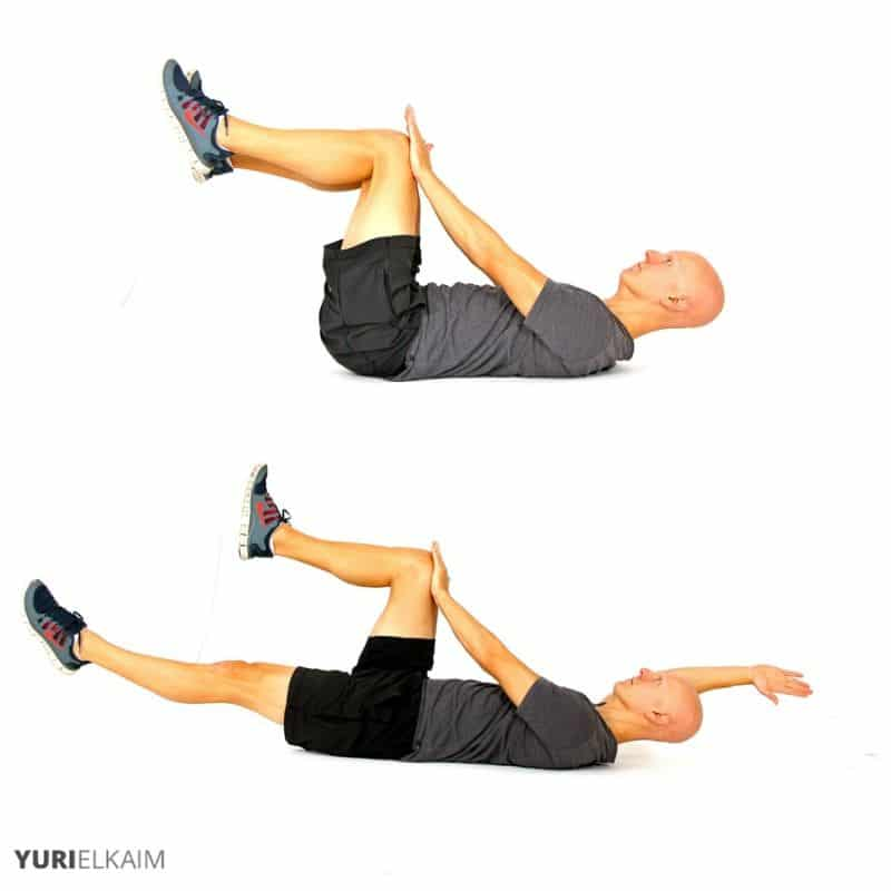 Dead Bug Beginner Abdominal Exercise