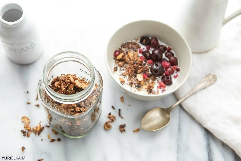 Grain-Free Granola Cereal Recipe with Coconut Oil