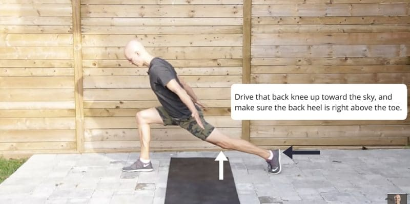Runner's Lunge Yoga Posture Fix