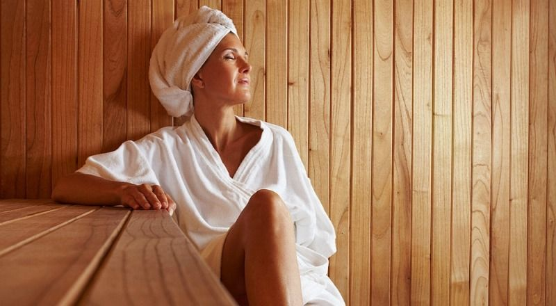 Saunas Provide a Deep Cleanse