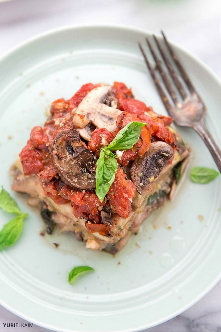 Slow Cooker Vegetarian Lasagna Recipe (Dairy-Free)