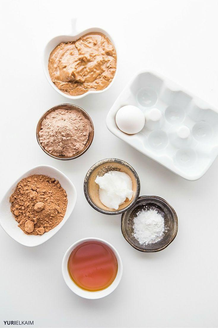 Gluten-Free Protein Brownie Ingredients