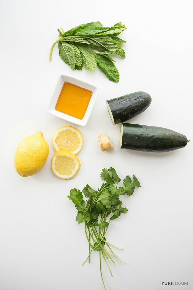 Green Lemonade Ingredients