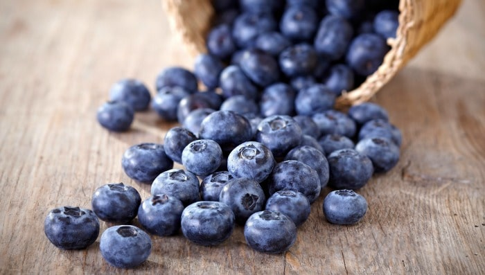 Tummy Fat Burning Food - Blueberries