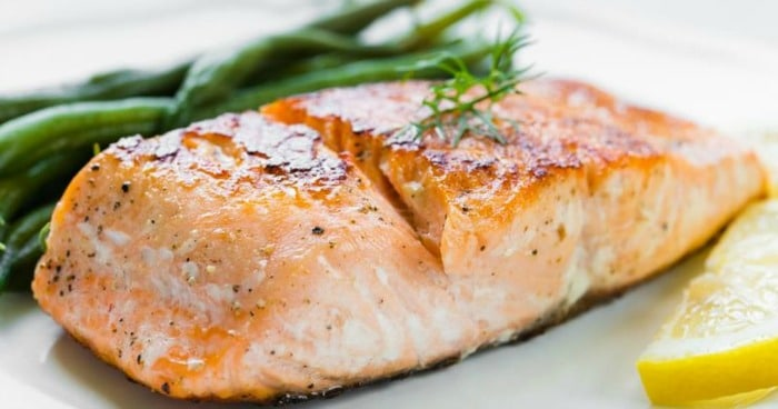 Tummy Fat Burning Food - Wild Salmon