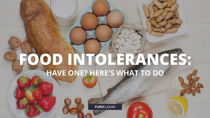 Food Intolerances - How to Know If You Have One And What to Do About It