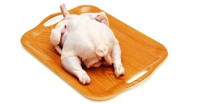 Uncooked Whole Chicken