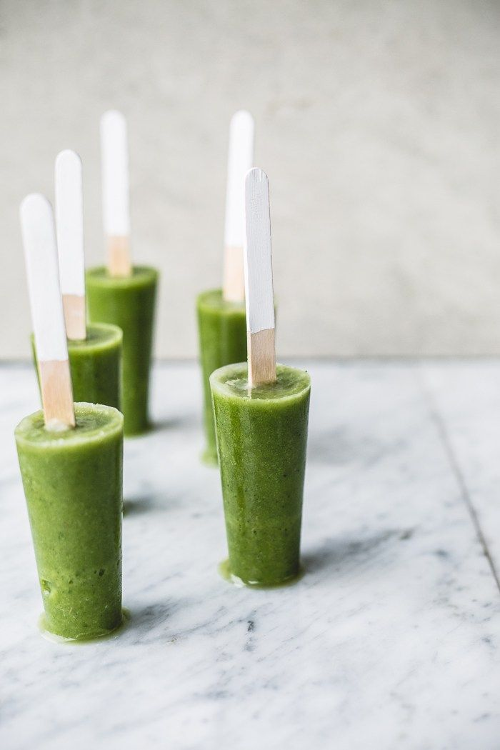 Green Smoothie Detox Pop via Top with Cinnamon