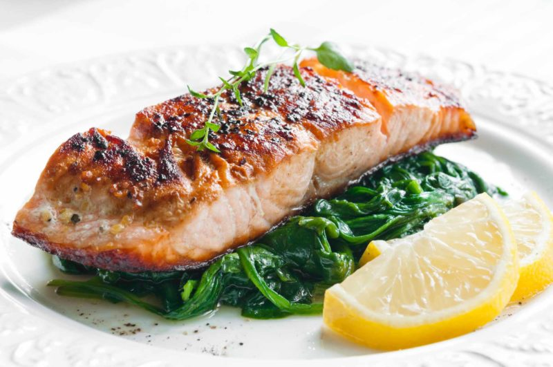 Paleo Pecan Maple Salmon via Paleo Debunked