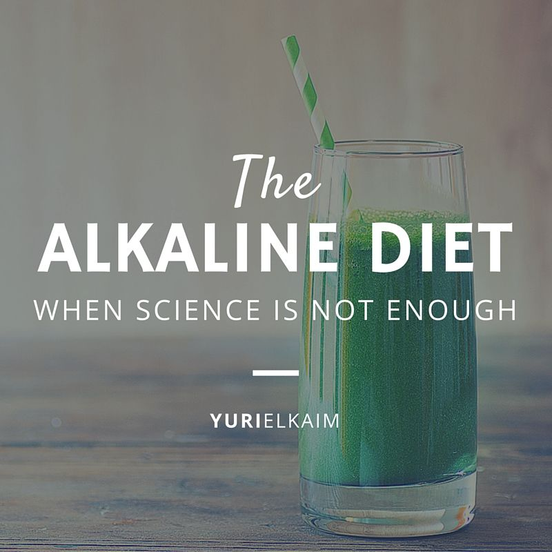 The Alkaline Diet blog post image