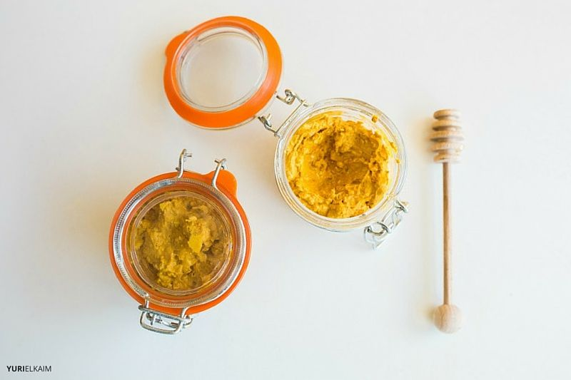 Two Jars of Turmeric Face Mask in