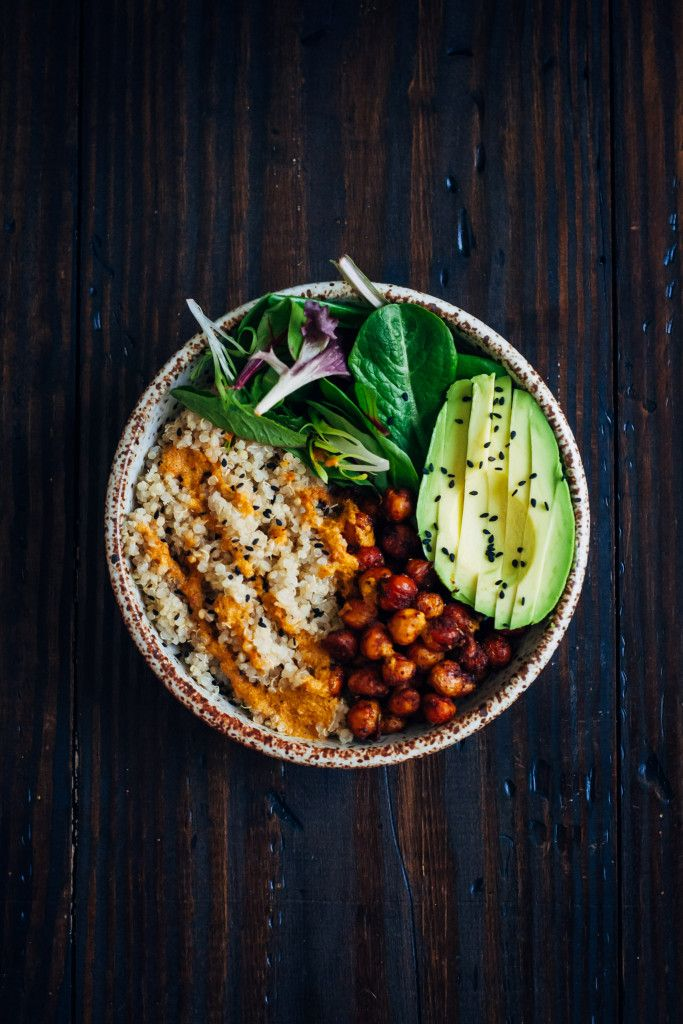 Vegan Buddha Bowl via Well and Full