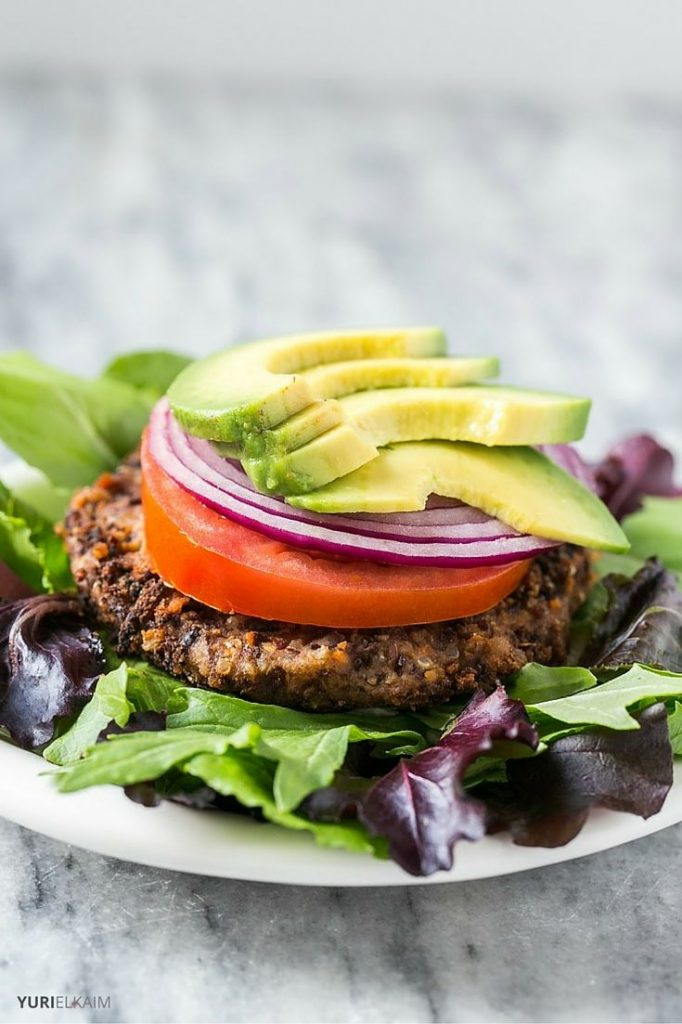 Vegan Spicy Black Bean Burger Recipe