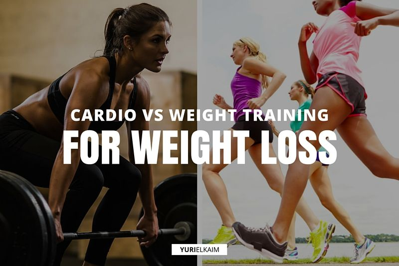 What You Need to Know About Cardio vs Weights for Weight Loss