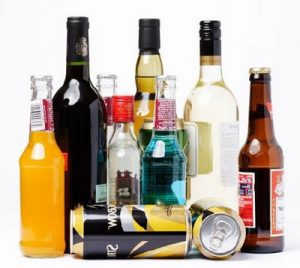 Various forms of alcohol