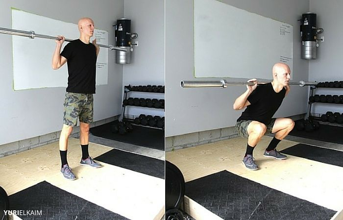 Back Squats - Before and After