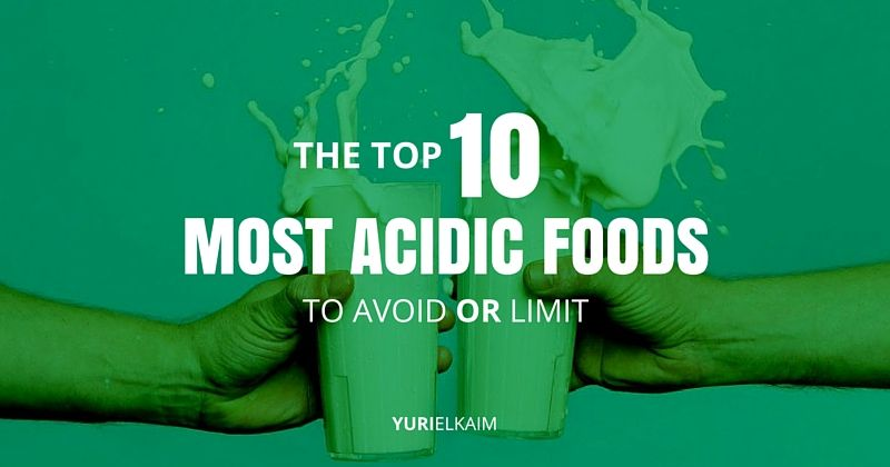 Top  Acidic Foods To Avoid