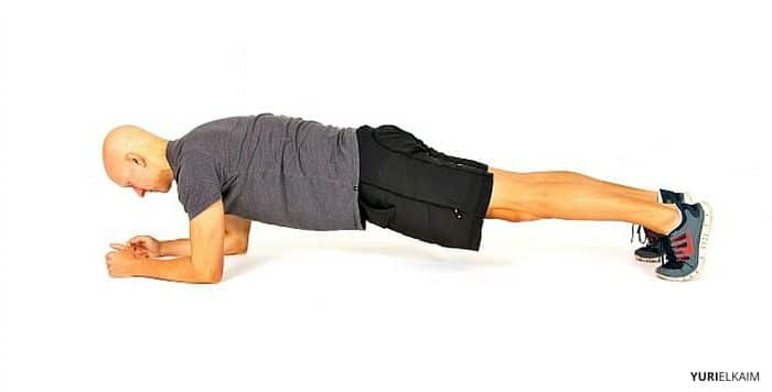 Plank (side view)