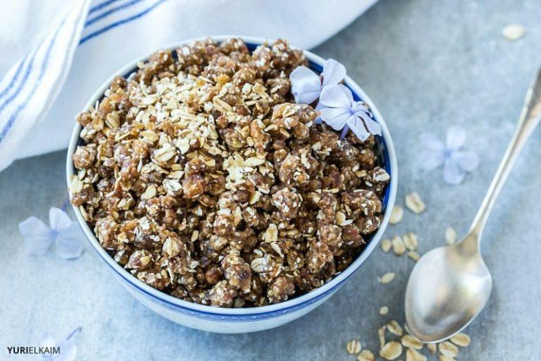 Raw Granola Recipe (No Dehydrator Needed)