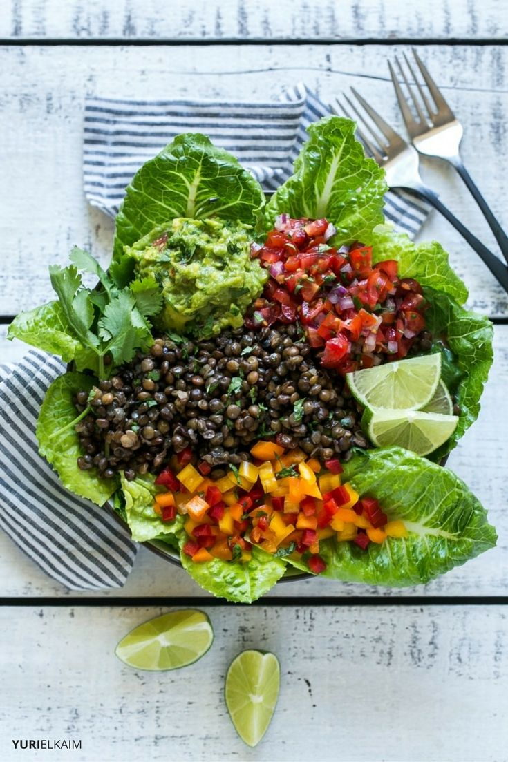 5-Minute Lentil Tacos (Made in a Bowl)