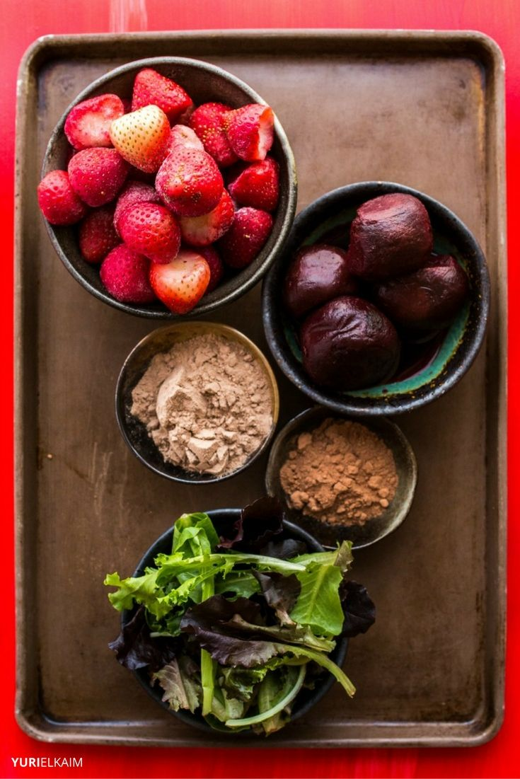 Beet Smoothie Ingredients