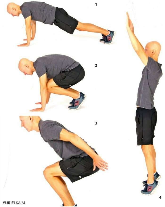Bodyweight Cardio Circuit - Burpees