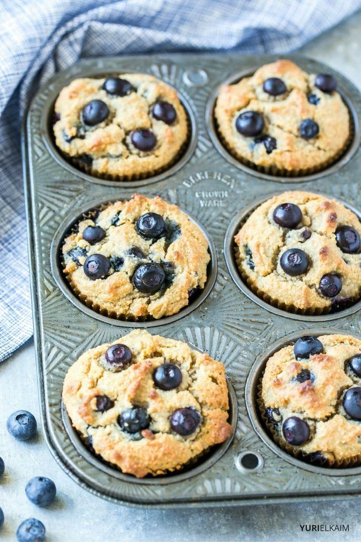 Paleo Blueberry Muffins Recipe
